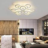 BNMMJ Lámpara de Techo Led, lámpara de Dormitorio, Sala de Estar, Comedor, balcón, habitación, lámparas nórdicas Modernas, Creativas y Modernas para el hogar