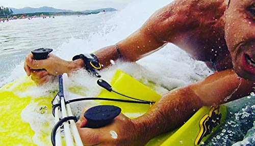 Esqui aquático Skimer Board - Wake Board, Bodyboard (Amarelo)