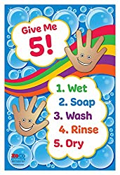 Count the Germs Clip Cards | Free Printable Worksheets For Kids | Make handwashing and hygiene fun and top of mind for kids with this fun set of counting clip cards. There are pictures of hands and also everyday objects that children can use to count up to 20.