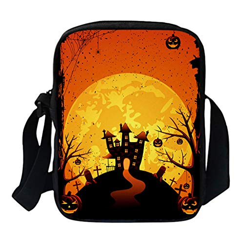 """✿ Material:Canvas.17CM/6.7""""× 6CM/2.4""""× 23CM/9"""". ✿ Organized Sling Backpack:2 Layers totally.Larger zippered compartment for Kindle,Ipad Mini, 2 standard size bottles of water or Tablets(up to 8 inch);Smaller zippered bag for phones,powerbank,wallet o..."""