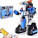 NextX Building Kit Robots for Kids STEM Brick Toy Remote & APP Controlled Robots Educational Learning Science Gifts for Boys and Girls 8 Year Old and up