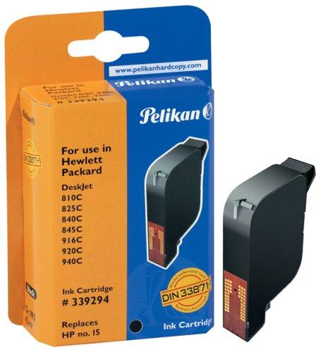 Pelikan H10 C6615DE Druckerpatrone (ersetzt HP 15) schwarz