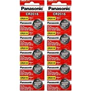 Panasonic CR2016 3 Volt Lithium Coin Battery (10 pcs)