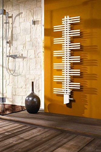 Zehnder Design Radiatore Yucca YS-090-090-050 908x47x500, radiatori da Bagno: Bianco RAL 9016 - ZY100250B100000