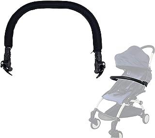 CXJC Barnvagnsstötfångare stänger justerbar generisk barnvagn handtag styre skyddsräcke med skumlager för skydd av barnvag...