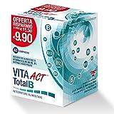 Integratore alimentare di vitamina b1, b2, b5, b6, b12, biotina e acido folico Formato compresse