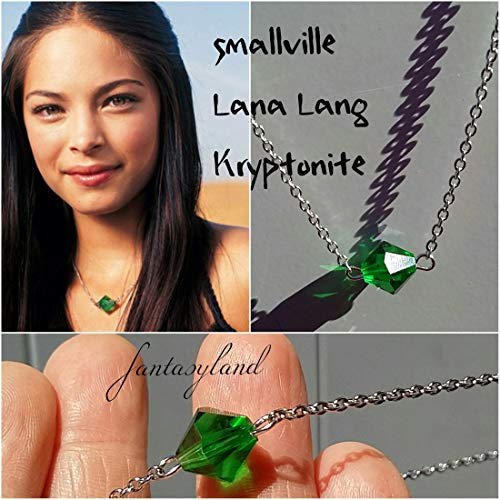 collana KRYPTONITE lana lang smallville clark kant superman regalo cristallo swarovski