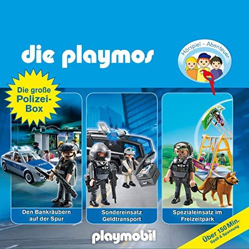 Die große Polizei-Box. Das Original Playmobil Hörspiel: Die Playmos 28, 41, 44