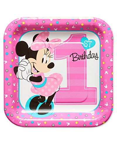 amscan American Greetings Minnie Mouse 1st Birthday 7