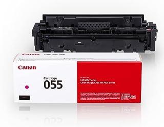 Canon Genuine Toner, Cartridge 055 Magenta (3014C001) 1 Pack, for Canon Color imageCLASS MF741Cdw, MF743Cdw, MF745Cdw,MF74...