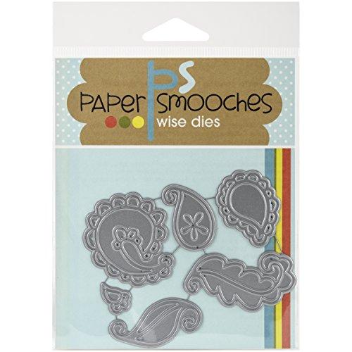 Paper Smooches Die-Paisleys, Transparent