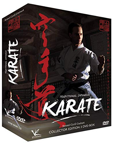 3 DVD Box Collection Traditional Japanese Karate