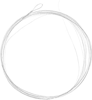 Lixada 5PCS 9ft 3X/5X/6X Tapered Leader with Loop Nylon Leader Clear Fly Fishing Line