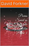 Poems Saved as Drafts into my Cellular Phone 4: book 4 (English Edition)