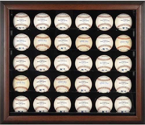 baseball wall mount display case - 7