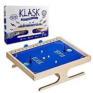Klask: The Award-Winning Party Game That's Half Table Football, Half Air Hockey