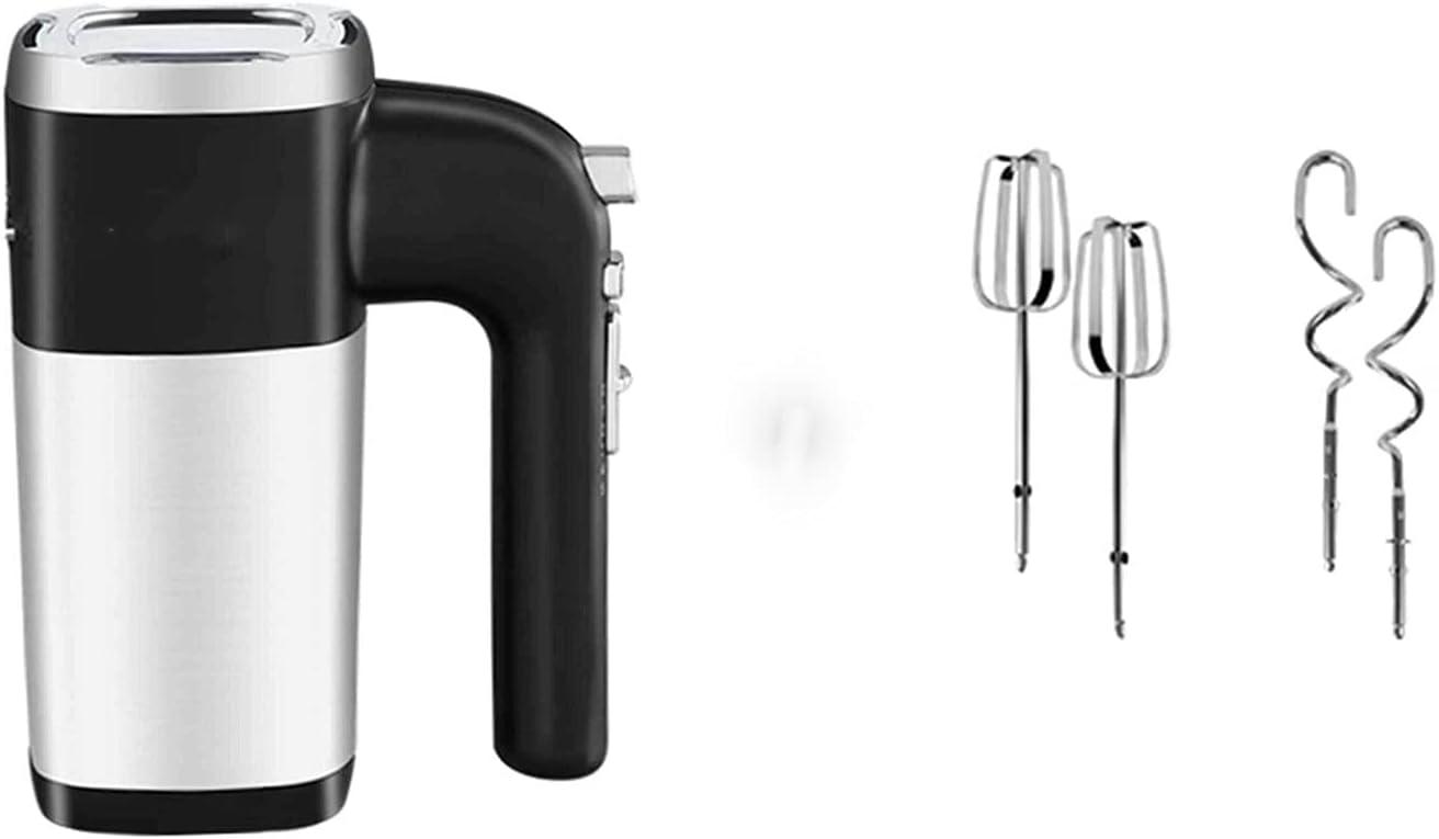 GDYJP Mezclador de Manos eléctrico, Mezclador de Mano de 500W para Hornear Cake Huevo Cream Crema Alimento, Turbo Boost/Speed Auto-Contract + 5 Speed + Botón de expulsión