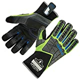 Ergodyne ProFlex 925WP Thermal Waterproof Work Gloves with Back Hand Protection, Large...