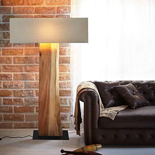 Möbel Bressmer Kreative Baumscheibe Treibholz Standlampe Lampe XL Handarbeit | Stehlampe Schwemmholz Holz Handarbeit | Moderne Innenbeleuchtung für Exklusives Wohnen mit Flair