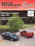 E.T.A.I - Revue Technique Automobile 567.2 SEAT IBIZA/CORDOBA I - 6K - 1993 à 1999