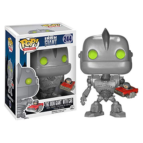 LiQi Gigante de Hierro Pop - El Gigante de Hierro con el Coche 244# Doll Figure