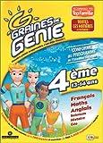 Graine de génie 4eme : Français, math, anglais, sciences, histoire,...