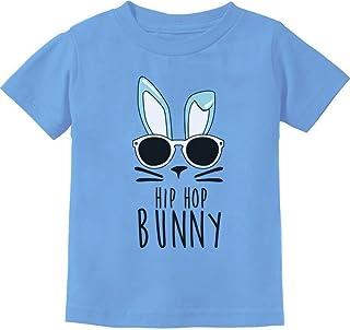 TeeStars - Hip Hop Bunny Funny Gift for Easter Toddler/Infant Kids T-Shirt 3T California Blue