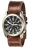 Bertucci A-4T Super Yankee Illuminated Watch - Black - Nut Brown Horween Leather