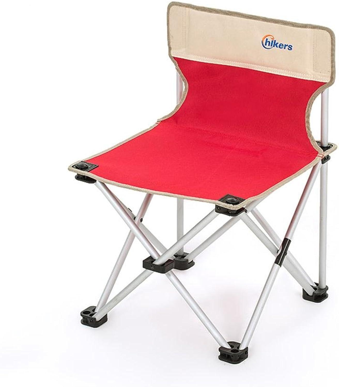 LQQ-folding chair Folding Chair - Aluminum Frame Leisure Fishing Chair - Camping Folding Garden Chair -Outdoor Folding Chair