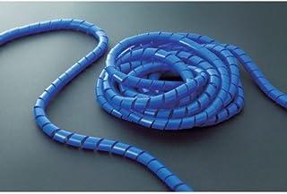 TRUSCO(トラスコ) スパイラルチュ-ブ10m 結束径3.0~25.0 青 TSP4B