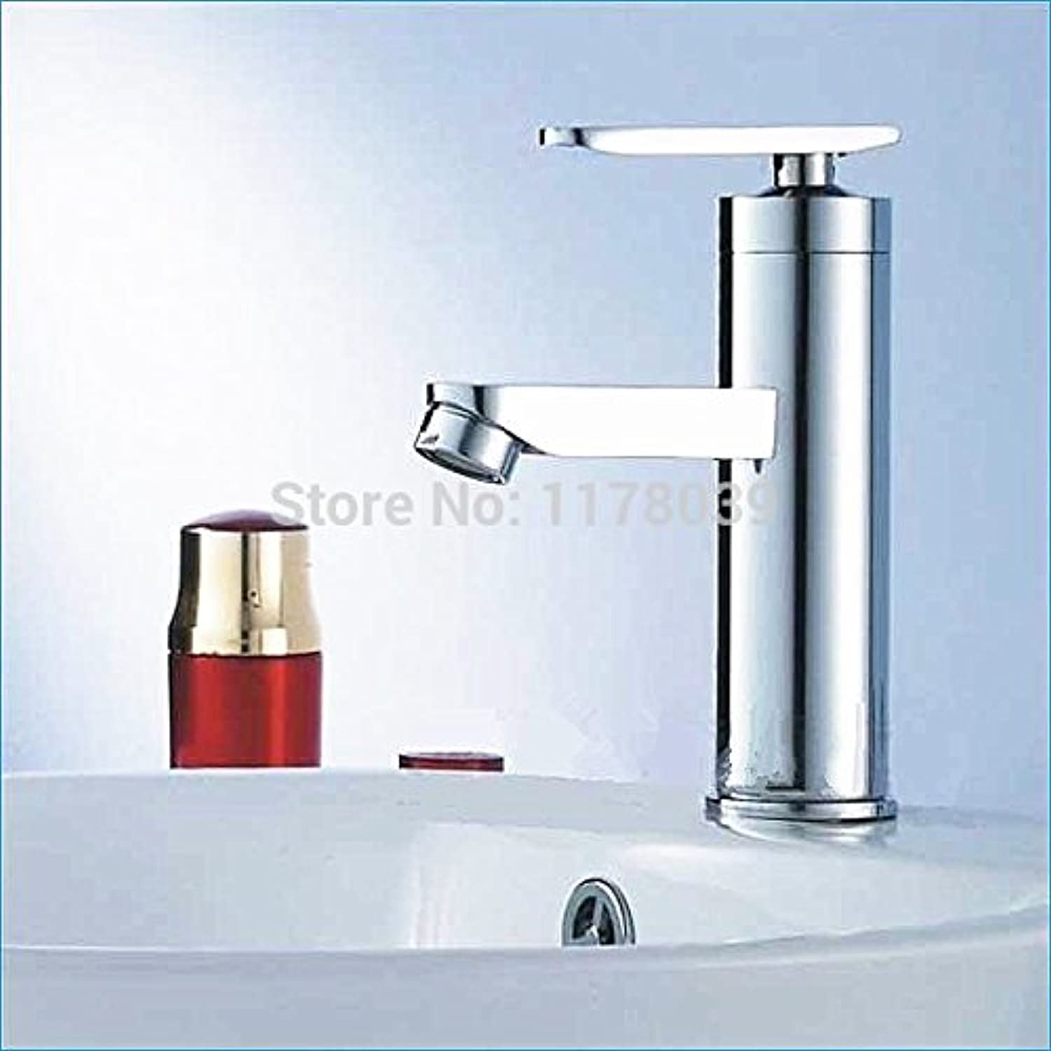 U-Enjoy Zinc Alloy Faucet Top Quality for Bathroom Fashion Little Emperors Single Hole Tap Hot and Cold Faucet (Free Shipping)