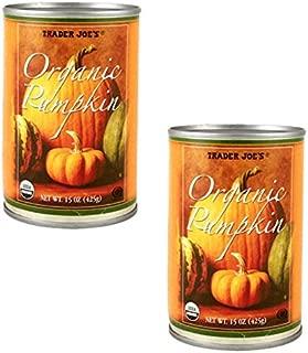 Trader Joe's Organic Canned Pumpkin 15 Oz - 2-PACK