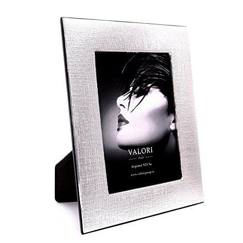 VALORI Oxford Bilderrahmen Silberrahmen Fotorahmen aus 925 Sterling Silber cm 13x18