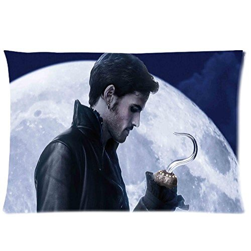 The Lantern Creative Design Custom Once Upon A Time Captain Hook Soft Cushion&Amp;Pillow Case 20X30 Inch 2 Sides