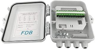 Caja de distribución de fibra óptica de 12 núcleos, caja de fibra para distribución de cable de fibra óptica, caja de fibr...