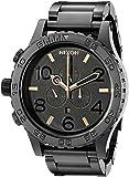 NIXON Men's A083957 51-30 Black Stainless Steel Chrono Watch