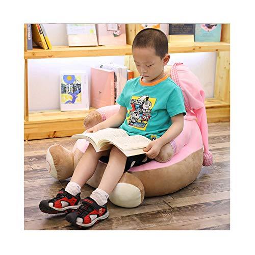 HUAXUE Baby Bean Bags Divano, Sedia Toddler Nest Puff Seat Sedile per Bambini, Cartoon Usscale Bambini Bag Bag Bag, Red-OneSize (Colore: Rosso, Dimensione: OneSize) (Color : Pink, Size : OneSize)