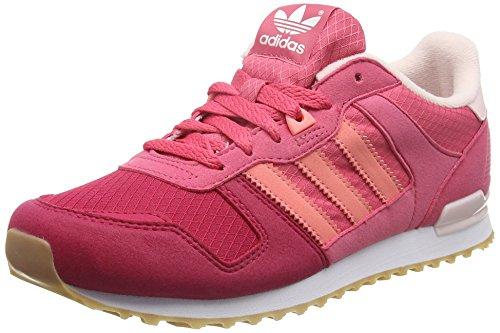 adidas Mädchen ZX 700 Low-Top, Pink (Craft Pink/Ray Pink/FTWR White), 36 EU
