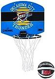 Spalding NBA Miniboard Oklahoma City Basketball, Mehrfarbig, One Size