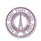 A/X 13 cm x 13 cm Paris JE T Aime Vinilo Pegatina Casco Parachoques portátil Coche Estilo calcomanía