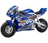 RAZOR Mini moto électrique Pocket Rocket bleu