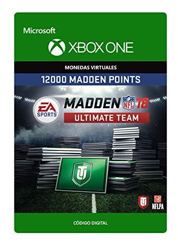 Madden NFL 18: MUT 12000 Madden Ultimate Team Points | Xbox One - Código de descarga