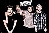 5 Seconds of Summer - Peace - Pop Rock Musik Band Poster
