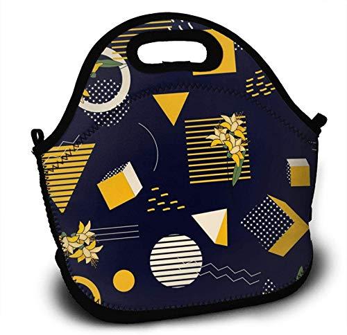 Neopren Kids - Fiambrera para niños, diseño de lunares talla única Purple-style1