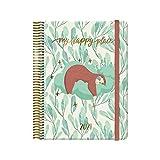 Dohe Agenda Cute - Agenda Anual Día por Página - Medidas 15 x 21 cm - 336 páginas - Diseño de Perezoso - 4 Páginas de...