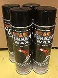 Fukken Wax Premium Spray-On Car Wax with Improved Formula. Big 17.05oz Aerosol Can Carnauba from Brazilian Palm. Get Brighter, Longer Lasting Shine (4 Cans)