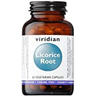 Viridian Licorice Root Extract, 60 Veg Caps
