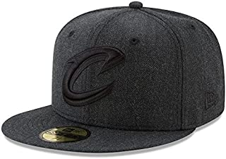 New Era New Era Cleveland Cavaliers Heathered Black Total Tone 59FIFTY Fitted Hat スポーツ用品 【並行輸入品】