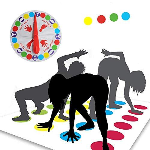 Funmo - Kinderspiel, Spielmatte Bodenmatte Familienspiel, Partyspiel, lustiges Spiel Geschicklichkeitsspiel für Kinder Kinderspiel