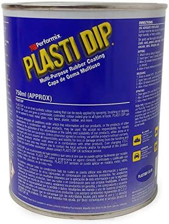 Plasti Dip Plastic/Rubber Paint - 750ml (Black)
